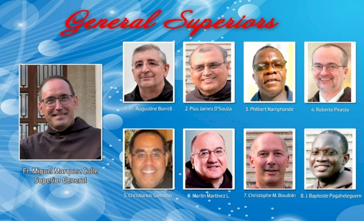 New General & Definitory for the Order of Discalced Carmelites
